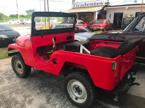 jeep willys 6 cilindros em fase d restauração precisa montar