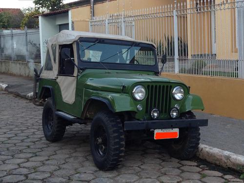 jeep willys 64 - motor original