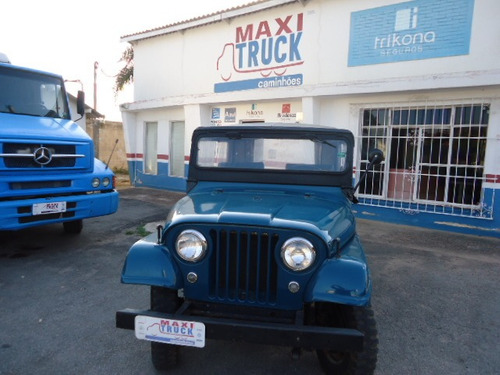 jeep willys 6cc original, 3 marchas, 1971