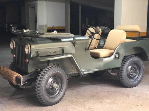 jeep willys capó alto