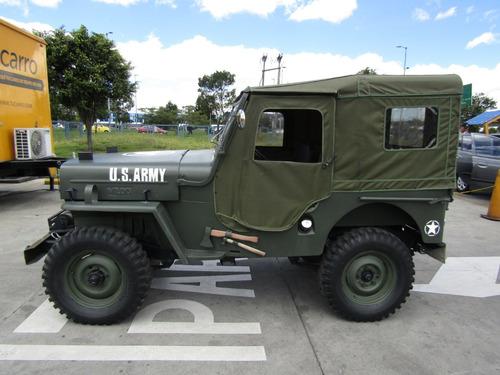 jeep willys carpado