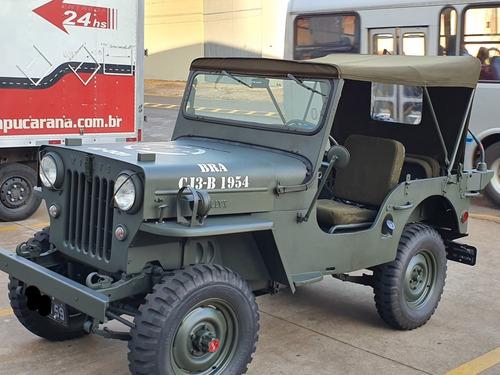 **jeep willys cj3-b** 100% reconstruido ** 90% peças novas**