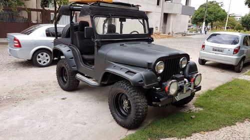 jeep willys cj5 preto fosco 1963 todo restaurado