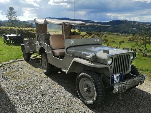 jeep willys, clásico, placa azul, minguerra