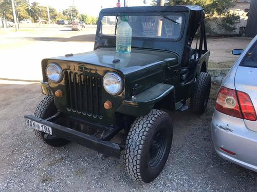 jeep willys espolón alto