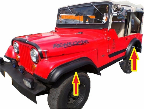 jeep willys extensiones cj5 cj6 cj7 ampliaciones  campero4x4
