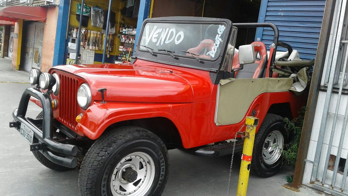 Jeep J10 For Sale Jeep Willys Ford 4x4 76/76 4cil. Conversivel - R$ 20.000 ...