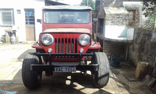 jeep willys impecable!!!
