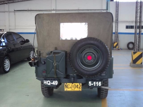 jeep willys militar m38a1 1955