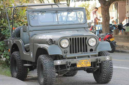 jeep willys modelo 56 militar