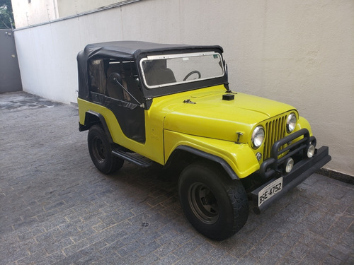 jeep willys overland 1963 motor opala 6 cilindros