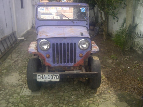 jeep willys rural 4x4  1954