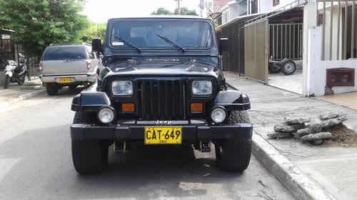 jeep wrangler 1992 matriculado en 1994.