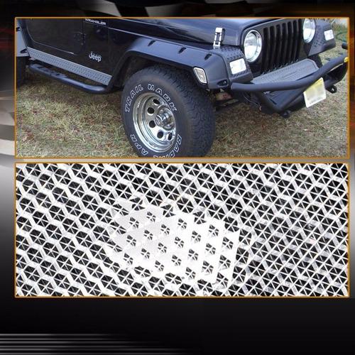 jeep wrangler 1997 - 2006 juego de faro cuartos nuevo!!!