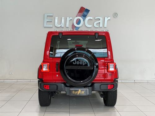 jeep wrangler 2.0 turbo gasolina sahara 4p 4x4 at8