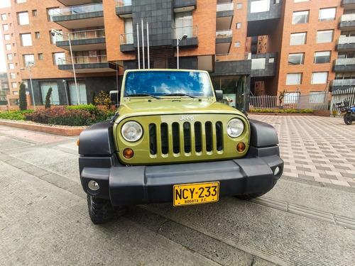 jeep wrangler 2013 verde 2 puertas