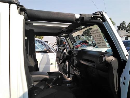 jeep wrangler 2014 unlimited sport, 4x4 automatico aire acc