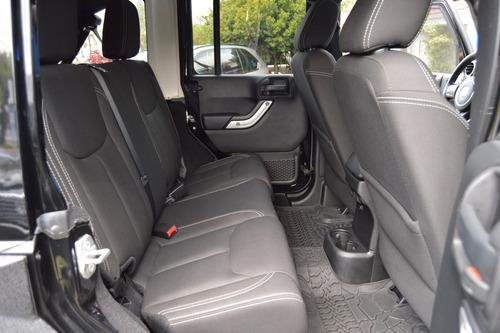 jeep wrangler 2015 rubicon unlimited negro