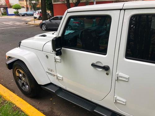 jeep wrangler 3.6 sahara 4x4 at