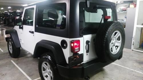 jeep wrangler 3.6 sport x 4x4 mt ++precio especial contado++