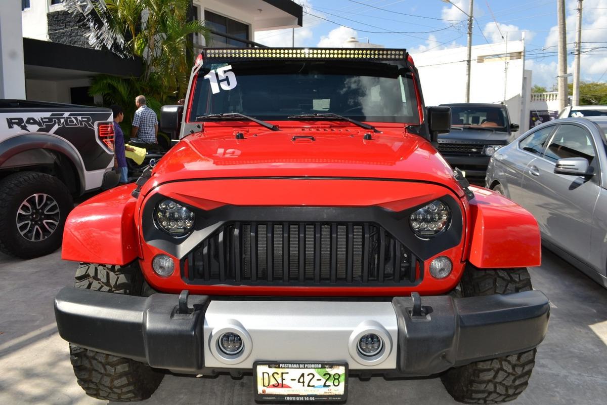 jeep wrangler 3 6 unlimited sahara 4x4 at 535 000 en mercado libre. Black Bedroom Furniture Sets. Home Design Ideas