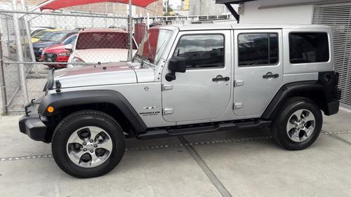 jeep wrangler 3.6 unlimited sahara 4x4 at tomo auto, credito