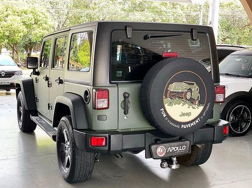 jeep wrangler 3.6 unlimited sport 4x4 v6 gasolina 4p