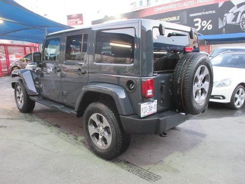 jeep wrangler 3.7 unlimited sahara 3.6 4x4 at 2017