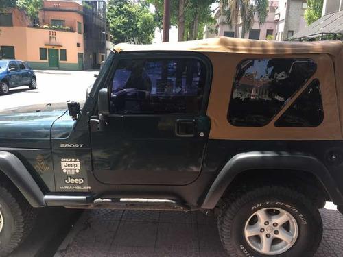 jeep wrangler 4.0 hard top sport 2006