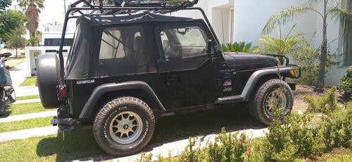 jeep wrangler 4.0 rubicon techo lona 4x4 mt 1997