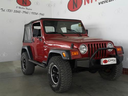 jeep wrangler 4.0 sport 4x4 teto lona 6i 12v gasolina 2p