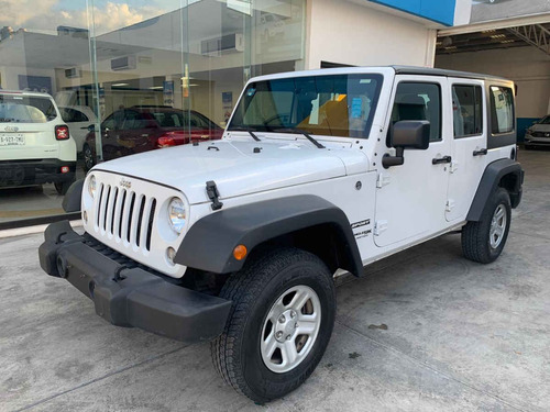 jeep wrangler 5p unlimited sport v6/3.6 aut