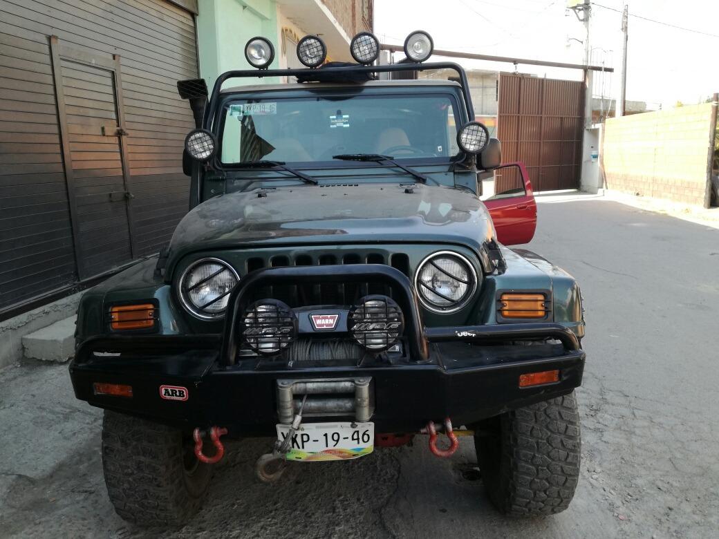 jeep wrangler usado, 2 puertas en estado de méxico en mercado