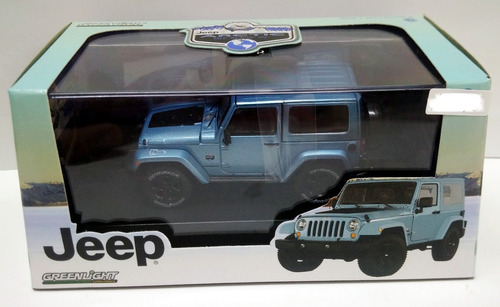 jeep wrangler arctic special edition 4wd 1/43 greenlight