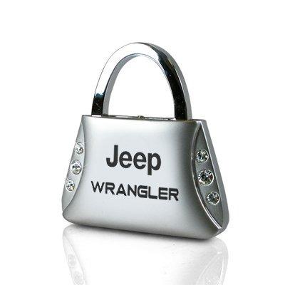 jeep wrangler cristales claros monedero en forma de llavero