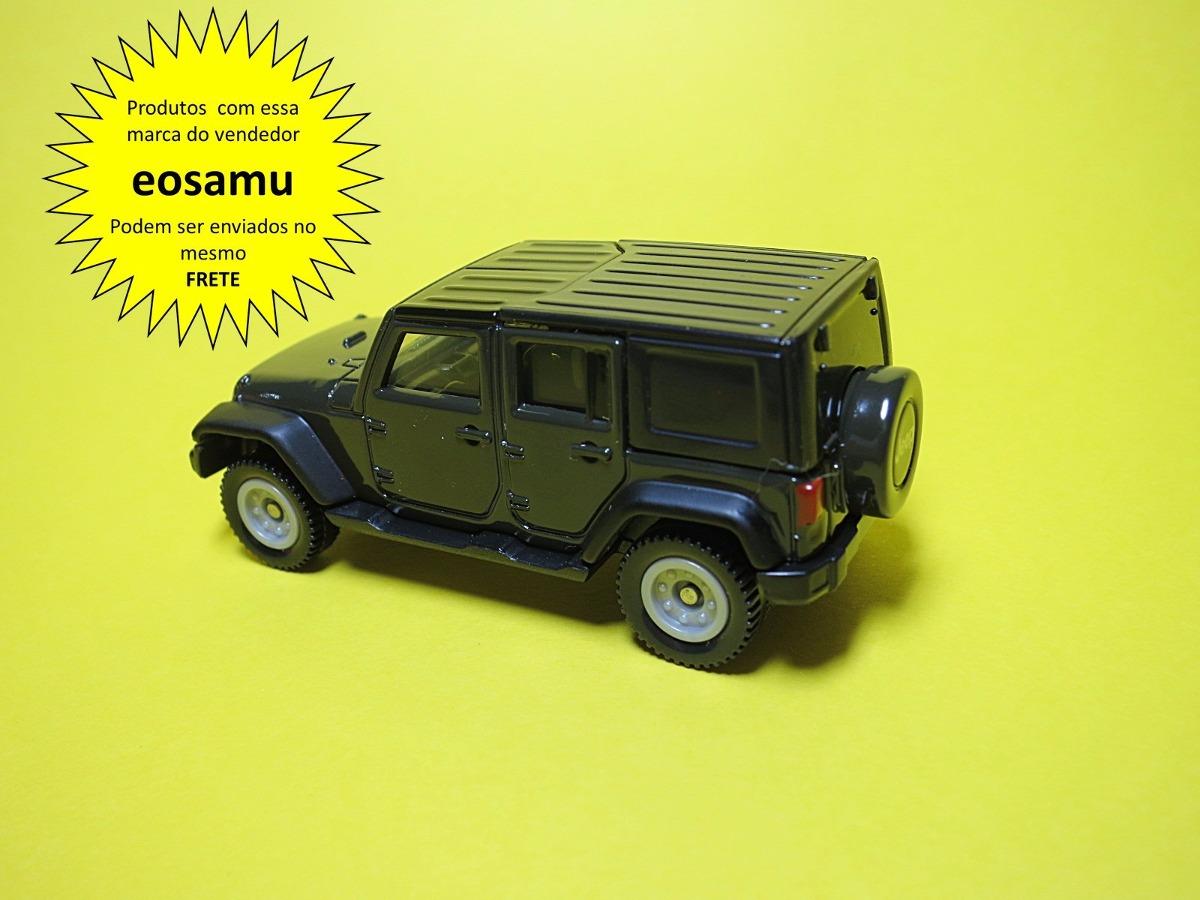 Jeep Wrangler Hard Top Removivel Tomica 1/65