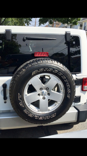 jeep wrangler juego de aros y goma
