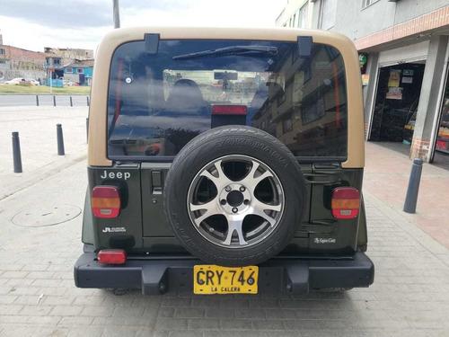 jeep wrangler modelo 97 en excelente estado