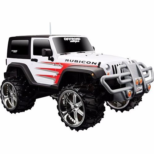 Jeep Wrangler Rubicon Control Off Road 1:16 Cores Variadas