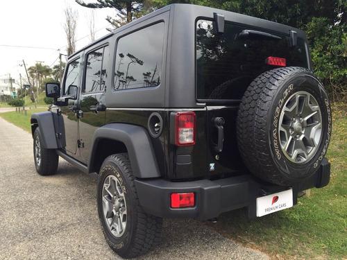 jeep wrangler rubicon del 2013, igual a nueva.