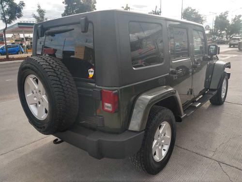jeep wrangler sahara 4x4 2007