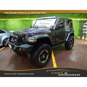 Jeep Wrangler Sahara De Lux  2018