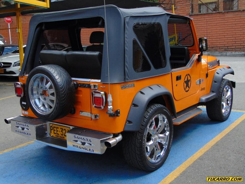 jeep wrangler sahara inyección