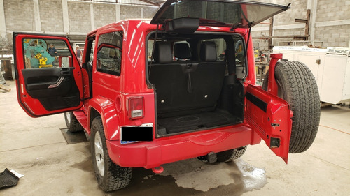 jeep wrangler sahara, modelo 2015