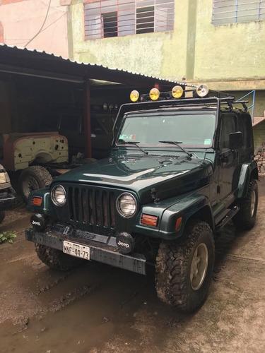 jeep wrangler se 5vel techo duro mt