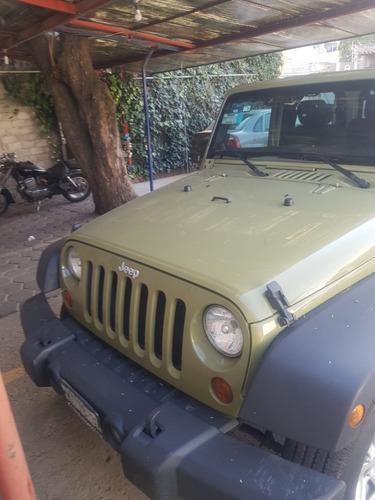 jeep wrangler sport 4x4  año 2013 verde