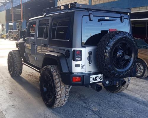 jeep wrangler unlimited 3.6 2012-13 con accesorios! 30k