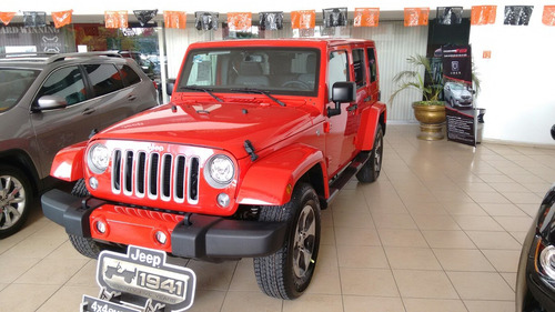 jeep wrangler unlimited 4 puertas 2017
