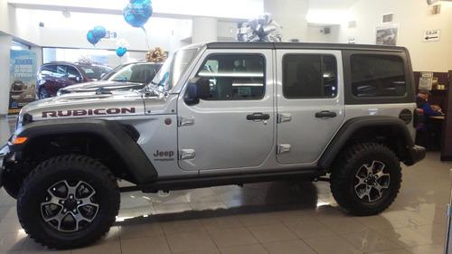 jeep wrangler unlimited rubicon 2019 ¡desde 10% de enganche!