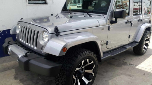 jeep wrangler unlimited sahara modificado 2016